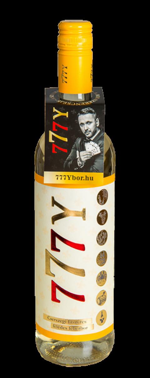 Cserszegi fűszeres félédes fehérbor